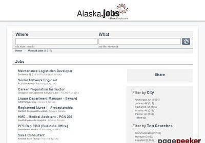 Alaska Jobs from real companies : frivfans
