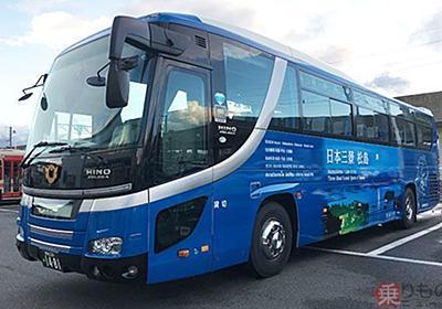 日本初、空港間を結ぶガイド付き観光路線バスが運行開始 岩手県北バス | 乗りものニュース