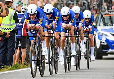 サンウェブとBMCを打ち破ったクイックステップフロアーズが4度目のチームTT制覇 - ロード世界選手権2018男子チームタイムトライアル   cyclowired