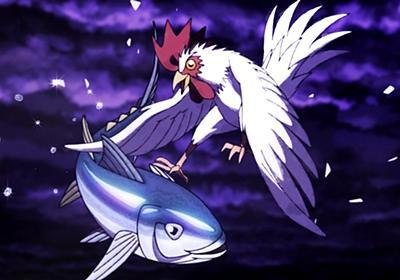 古川登志夫と神谷明が「コケーッ!」「魚(ウオーッ!)」 チキンの称号を求め、鶏vsまぐろの戦い描いたショートムービー公開 - ねとらぼ
