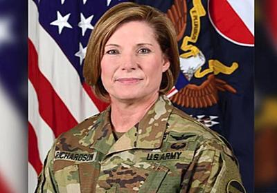 CNN.co.jp : 米陸軍最大部隊のトップに女性起用、陸軍史上初