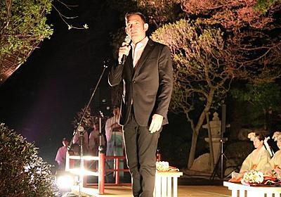 太宰府天満宮×ニコライ バーグマン展覧会「HANAMI 2050」お披露目会レポート。ライトアップした夜間展示を先行公開。 : フクオカーノ!
