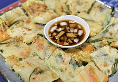 【韓国料理】小麦粉(薄力粉)で作る海鮮チヂミ レシピ - でぼの韓国旅行ブログ