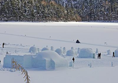 Japanese 'Kamakura' Snow Hut Festivals