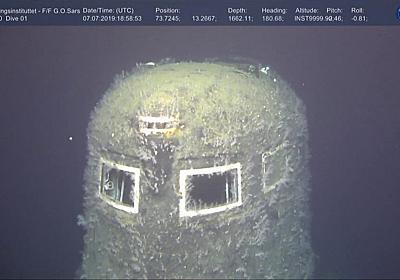 沈没したロシア原潜から80万倍の放射線 ノルウェー沖 - BBCニュース