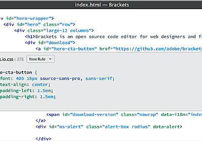 Brackets Blog - The Free, Open Source Code Editor for the Web