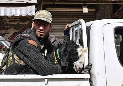 CNN.co.jp : 制圧されたクルドの街、反体制派による略奪が横行 シリア