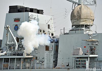 英軍艦、異例の台湾海峡通過