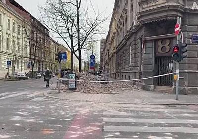 クロアチアで地震 感染拡大で距離保ちながらの避難呼びかけ   NHKニュース