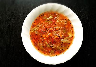 【雑穀料理】キヌアを使ったトマトスープの作り方【レシピ】 - Tempota Blog