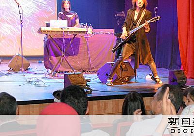 SUGIZOさん、パレスチナで公演 「夢かなった」:朝日新聞デジタル