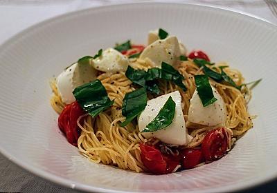 トマトとモッツアレラチーズのパスタの作り方(レシピ) - たにまのひめゆり
