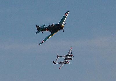 航空ショーは体力勝負 何故にいつもこんなに過酷? ~零式艦上戦闘機五二型も飛んだ Los Angeles Air Show その4 - 模型じかけのオレンジ