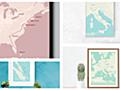 旅行した場所を地図にマッピングしてポスターをデザインできる「My Holiday Map」レビュー - GIGAZINE