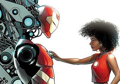 新「アイアンマン」、主役は15歳の黒人少女に決定   WIRED.jp