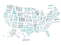 The Literary United States: A Map of the Best Book for Every State | Brooklyn Magazine