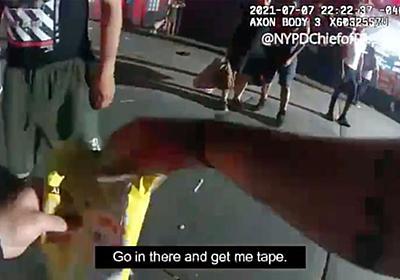 CNN.co.jp : ポテチの袋で止血、警官のとっさの判断が刺された被害者の命救う 米NY