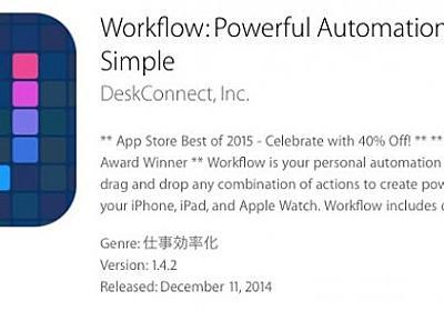 iPhoneで.mov .mp4の動画ファイルをダウンロードして保存「Workflow」使い方 | 動画素材.com/ブログ