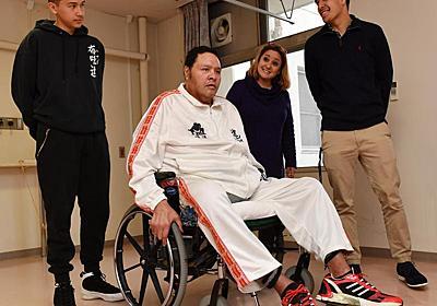 曙太郎、生命の危機乗り越えリハビリ 必ずリングに - 大相撲 : 日刊スポーツ