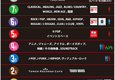 タワレコ渋谷リニューアル 洋楽フロア縮小、K-POPやアイドル拡張 「ネットで埋もれる」アーティスト紹介も - ITmedia NEWS
