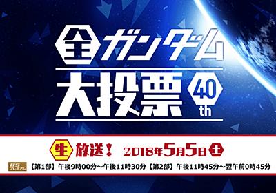 スペシャルショート動画 全ガンダム大投票 40th   NHK