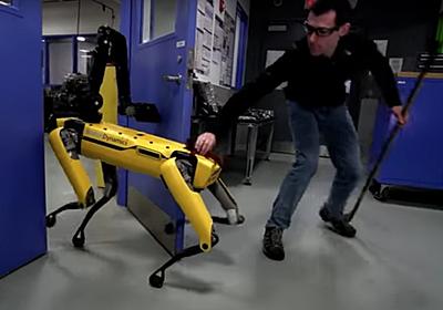 【やじうまPC Watch】もはや誰にも止められない? Boston Dynamicsの4足歩行ロボ  - PC Watch