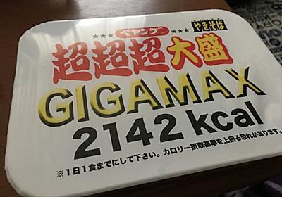 ペヤング超超超大盛gigamaxに挑戦してみたついでに過去に大食いしたものを紹介してみる - AzuYahi日記