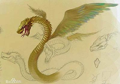 螣蛇(騰蛇):中国の神獣、四象、霊獣特集
