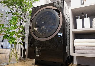 ただの水道水で洗濯する時代は終わったらしい。東芝の新型ドラム式洗濯機「TW-127X8」 | ギズモード・ジャパン