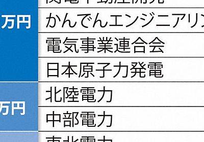 稲田氏パーティー券に流れた「原発マネー」 出所は? - 毎日新聞