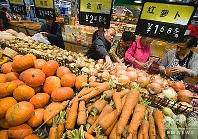 中国消費者物価指数、8月は2.3%上昇 高温多雨で食品価格上昇 写真1枚 国際ニュース:AFPBB News