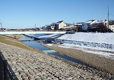 プチぶらり散歩:冬の晴れ間 雪が残る空堀川&清瀬せせらぎ公園散策 | Secret Box