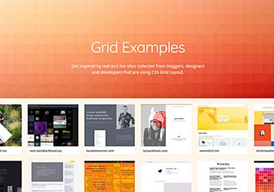 CSS Grid Examples • Real sites using CSS Grid Layout
