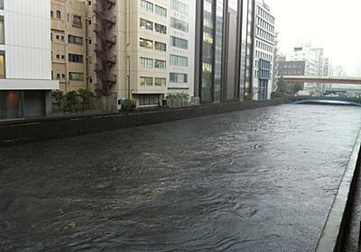 神田川水位マジパネぇっす(;´Д`A #akiba   Posted by twitter.com/twtr_horis…   Flickr
