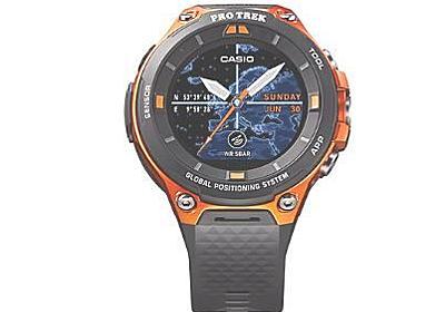 カシオ、PRO TREK Smart WSD-F20の国内発売とWSD-F10のAndroid Wear 2.0対応を発表   juggly.cn