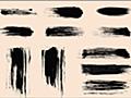今だけ無料!ブラシや筆で描いたようなストローク111種類を表現できるブラシ素材 -Swirls Strokes Brushes Set | コリス