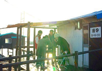 もしかしたら生涯忘れられないかも……瀬戸内の海小屋で漁&自炊して過ごした僕たちの「四つ手網(よつであみ)」体験記 - メシ通 | ホットペッパーグルメ