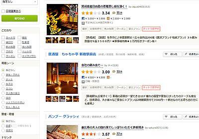 「食べログ」の標準検索は「広告枠」とカカクコム 「いきなり3.0点にリセット」の理由は - ITmedia NEWS