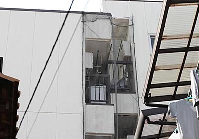 〈独自〉【住宅クライシス】「ハの字」型に傾斜のマンション 8年放置で大阪市調査 - 産経ニュース