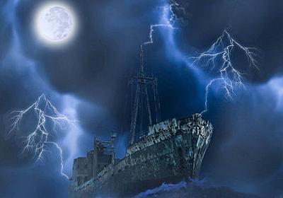 乗組員不在の巨大な「幽霊船」がアイルランドに漂着 - GIGAZINE