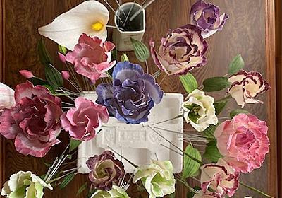 ロウの花でクリスマスリース&鶏のレモン炒め、レンコンのはさみ揚げ、ポテトクリームコロッケ - temahime's blog
