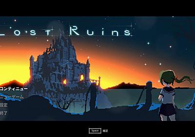 INDIE GAME WEEK:セーラー服の美少女が異世界転生!剣と魔法でゴブリンやスライムと戦う奇妙な韓国産2Dアクション『Lost Ruins』
