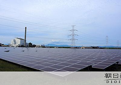 太陽光発電、九電が停止要求の可能性 原発再稼働も一因:朝日新聞デジタル