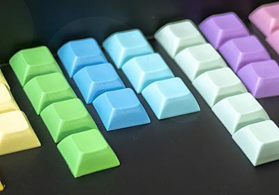 いろんなキーボードのキーの数 Number of keys for each keyboards. – Romly