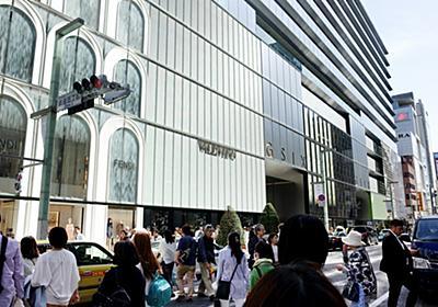 銀座、腕時計の激戦区に 外国人「ここに来るため来日」:朝日新聞デジタル