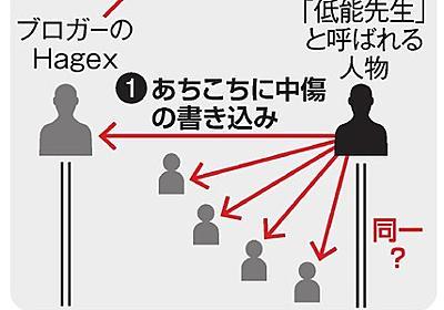Hagexさんが生前抱いていた不安、現実に 刺殺事件:朝日新聞デジタル