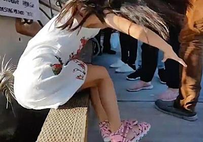 【動画】水の中に少女を引きずり込んだアシカ。驚きの一部始終