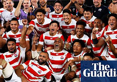 Japan show world their defiance and skill in face of typhoon destruction   Andy Bull   Sport   The Guardian