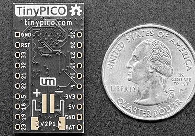 超小型&バッテリー駆動可能なESP32採用無線通信モジュール「TinyPICO」 - GIGAZINE