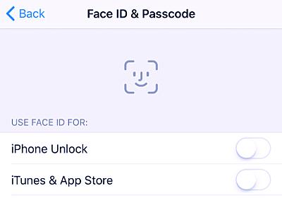 iPhone X/8の顔認証「Face ID」設定画面が公開!! - iPhone Mania